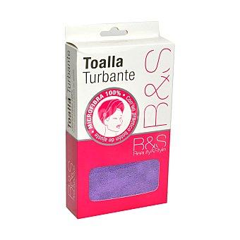 Beauty&Style Toalla turbante Beauty & Style 1 ud