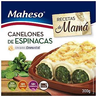 Maheso Canelones de Espinacas con Bechamel Maheso 300 gr