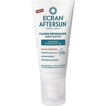 Ecran Aftersun After sun fluido reparador para cara y escote 50 ml