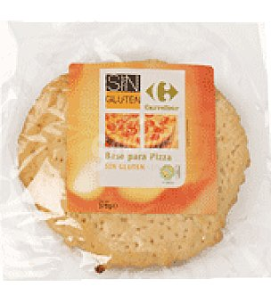 Carrefour Base Pizza sin gluten Paquete de 375 g.