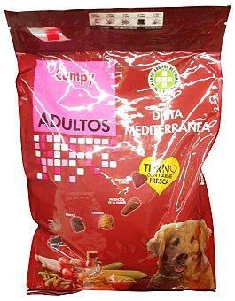 Compy Comida perro adulto croqueta dieta mediterranea Paquete 3 k