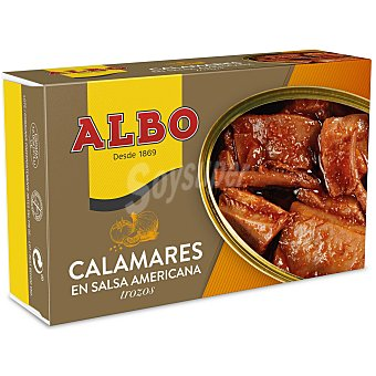 Albo Calamares en salsa americana 72 g