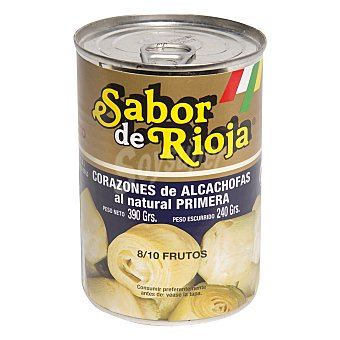 Sabor de Rioja Alcachofas 8/10 frutos 240 g