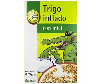 Productos Económicos Alcampo Cereales de trigo inflado con miel 375 gr