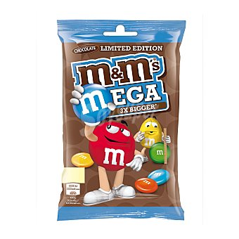 M&M's Mega chocolate 3x bigger Bolsa 187 gr