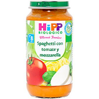 HiPP Biológico Tarrito biológico de spaguetti Tarro 250 g