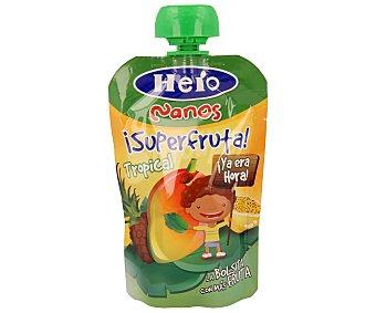 Hero Baby Bolsita de fruta Superfruta Tropical Nanos envase 100 g
