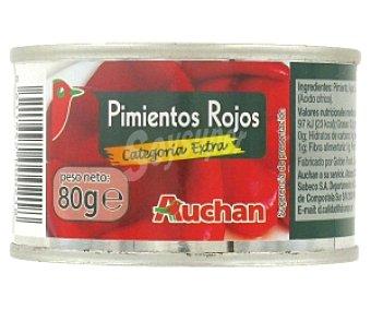 Auchan Pimientos Rojos Categoría Extra 60 Gramos