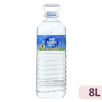 Font Agudes Agua mineral natural Garrafa 8 l