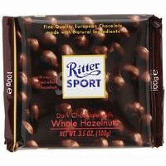 Ritter Chocolate Dark Whole Hazelnut Tableta 100 g