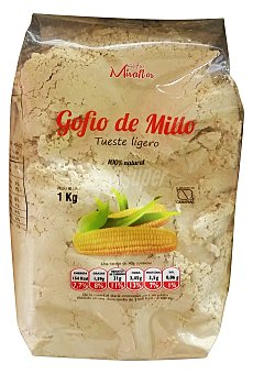 MIRAFLOR Gofio millo Paquete 1 kg