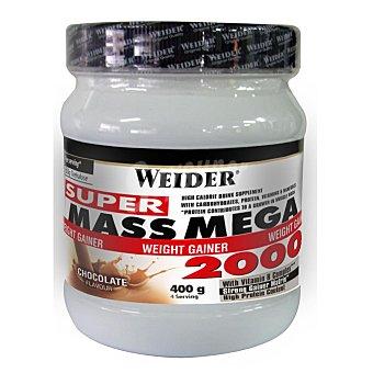 WEIDER Mega mass 2000 chocolate Envase 400 gr