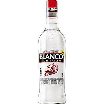 BLANCO DEL VALLE Aguardiente blanco sin azúcar Botella de 70 cl