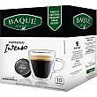 Café espresso intenso intensidad ápsulas 8 estuche 10 c Café Baqué
