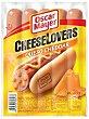 Cheeselovers salchichas cocidas y ahumadas con queso cheddar sin gluten 5 piezas Envase 275 g Oscar Mayer