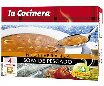 LA COCINERA Sopa de pescado mediterranea estuche 500 g