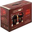 Red Vintage La Colorada cerveza rubia Reserva Especial + Copa Teku Pack 6 botellas 33 cl 1906