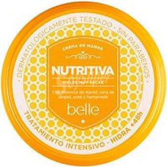 Belle Crema de manos nutritiva intensiva Tarro 200 ml