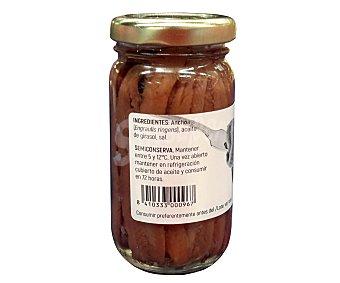 Leribe Filetes de anchoas en aceite de girasol 50 gr. peso neto escurrido
