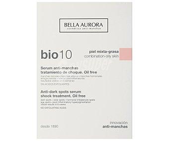 Bella Aurora Serum anti-manchas, tratamiento de choque, para pieles mixtas a grasas BIO 10 30 ml