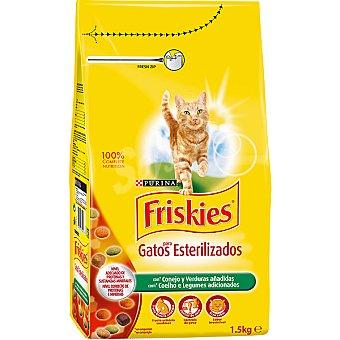 Purina Friskies Especial gatos esterilizados con conejo y verduras bolsa 15 kg Bolsa 15 kg