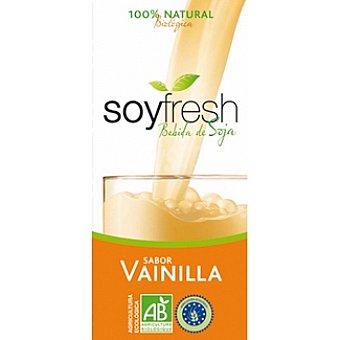 SOYFRESH Bebida de soja sabor vainilla 100% natural ecológica Envase 1 l