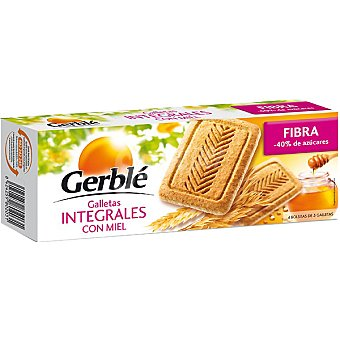 Gerble Galletas integrales con miel fibra Estuche 270 g