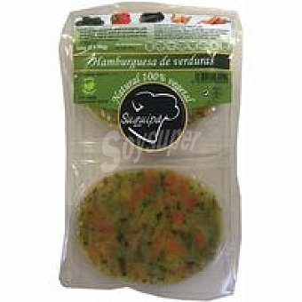 Suquipà Hamburguesa de verduras Pack 2x90 g