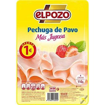 ELPOZO Pechuga de pavo más jugosa en lonchas  envase 110 g