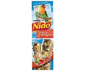 Purina Nido Barritas cotorras manzana 50 gramos