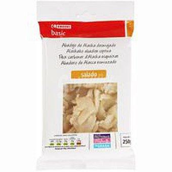 Eroski Basic Abadejo salado desmigado Bandeja 250 g