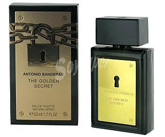 Antonio Banderas Colonia Golden Secret para hombre Frasco 50 ml