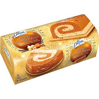 Pilpa Tarta helada de vainilla con nuez 8-10 porciones Estuche 1 l