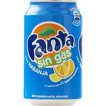 Fanta Refresco de naranja sin gas Lata 33 cl