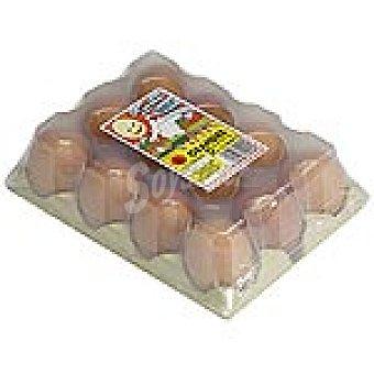 HERMANOS SALON Huevos morenos clase L Estuche 12 unidades