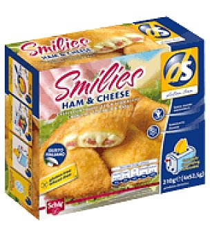 Schär Empanadilla smilies ham&cheese 210 g.