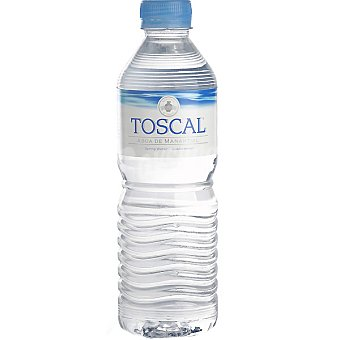 TOSCAL Agua mineral botella 50 cl 50 cl