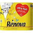 Papel higienico ultrafort Paquete 4 rollos Renova
