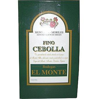 EL MONTE Cebolla fino D.O. Montilla Moriles  envase 5 l