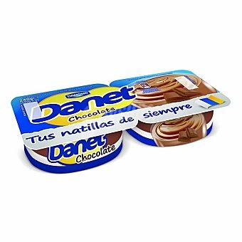 Danet Danone Natillas de chocolate Pack 2 x 120 g