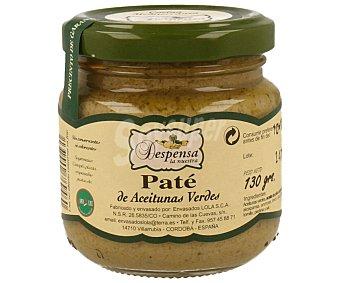 Despensa la Nuestra Paté de aceitunas verdes 130 gramos