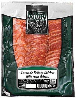 Azuaga Lomo ibérico de bellota en lonchas Sobre 100 g