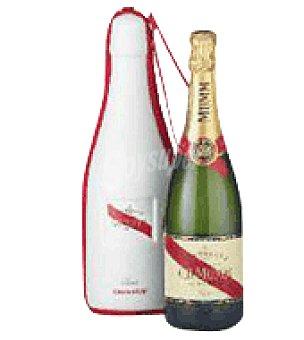 Summumm de Roler Botella champagne cordón Rouge + Bolsa térmica Protocolo 75 cl
