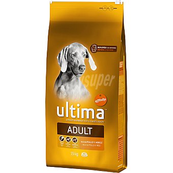 AFFINITY ULTIMA ADULT Rico en pollo y arroz para perro bolsa 15 kg Bolsa 15 kg