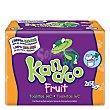 Toallitas infantiles con aroma a frutas tropicales recambio (25% gratis incluido en el precio) 100 unidades Kandoo