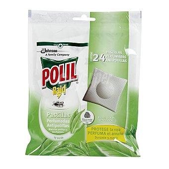 Polil Raid Antipolillas pastillas de Te Verde 24 unidades