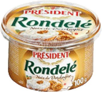 QUESO RONDELE NUEZ 100 GRS