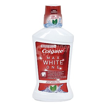 Colgate Max White Enjuague bucal Instant One sin alcohol Frasco 500 ml