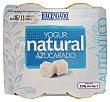 Yogur natural azucarado (tarro cristal) Pack 4 x 130 g - 520 g Hacendado