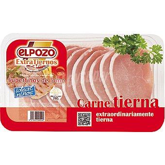ElPozo Filetes de lomo superfino extratierno Bandeja 220 g